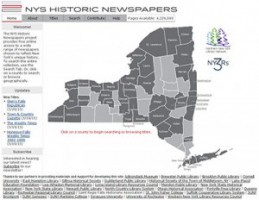 NYS Historic Newspapers