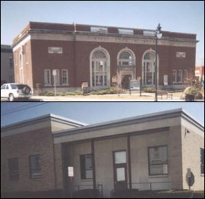 Horseheads Library's third home Home-Marine Midland Bank 1961-62 | Library's 4th home Village Hall 1962-1967