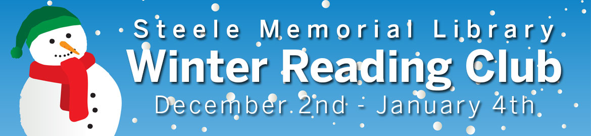 Steele Memorial Library Winter Reading Club