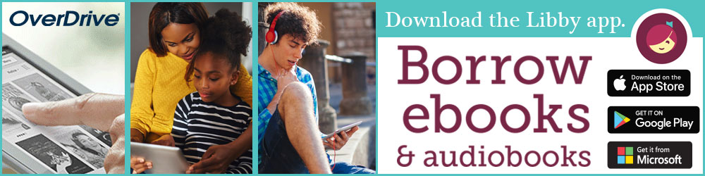 Overdrive - eBooks and digital audiobooks now available