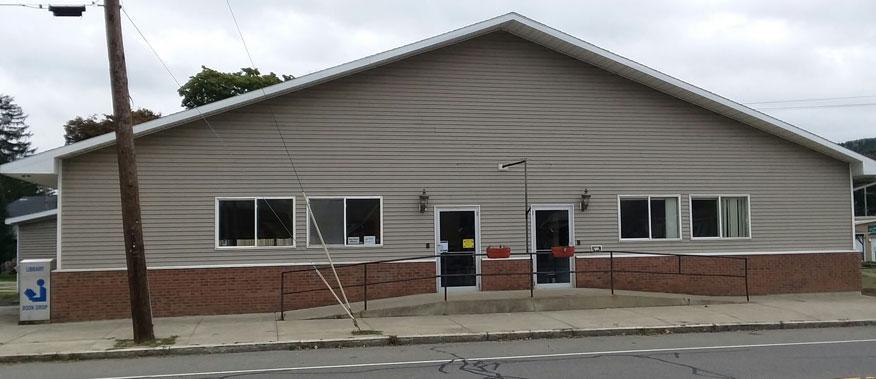New Van Etten Library Location