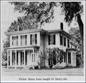 Alma Brown's House