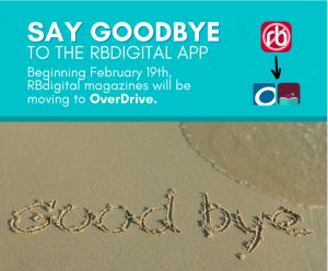Goodbye RB Digital