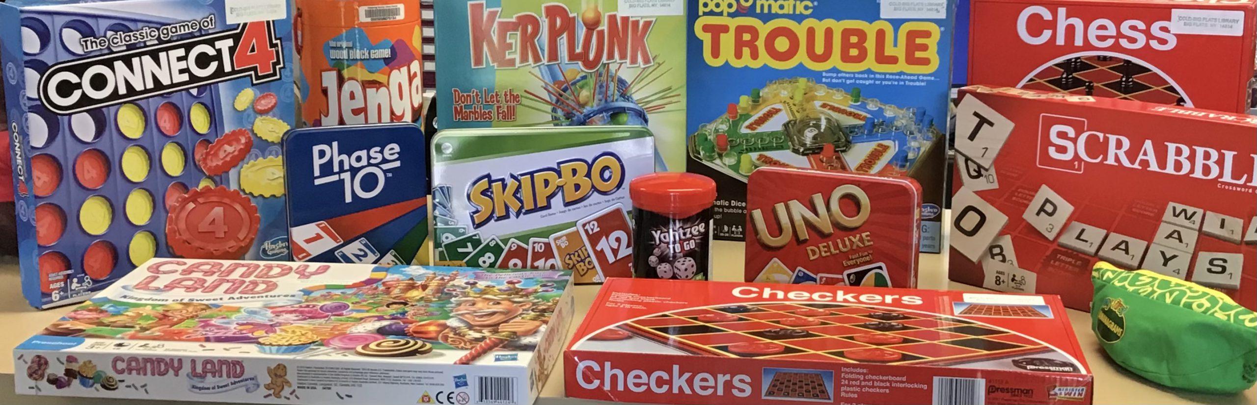 Big Flats Board Games
