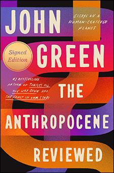The Anthropocene Reviewed book cover